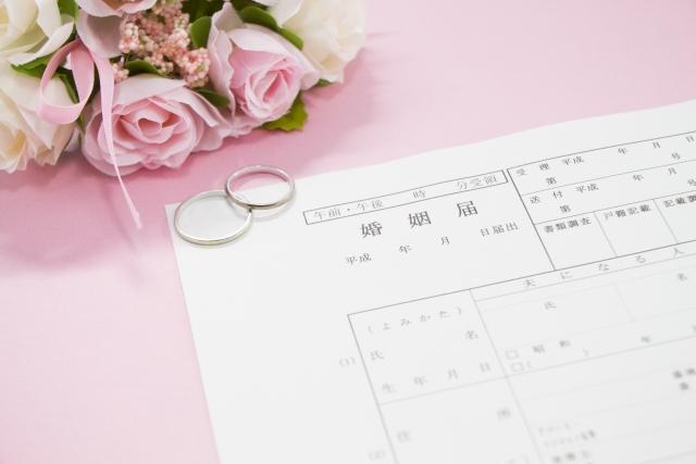 プレミアム婚姻届撮影会開催