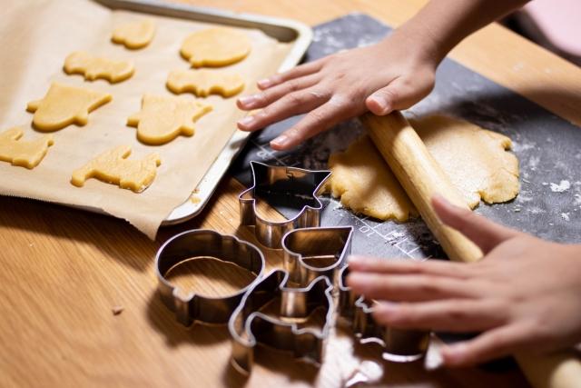 子どもとお菓子作り